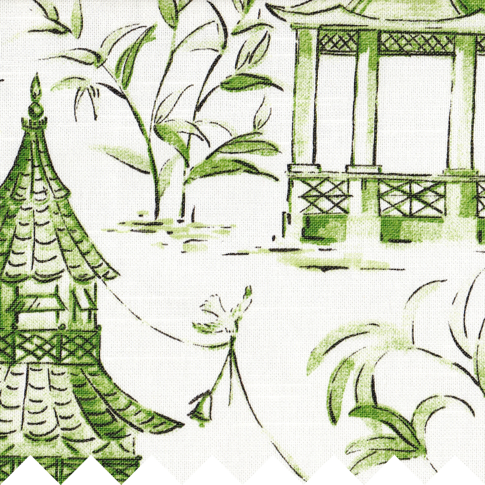Fabric Collections Imperial Imperial Jade Pagodas